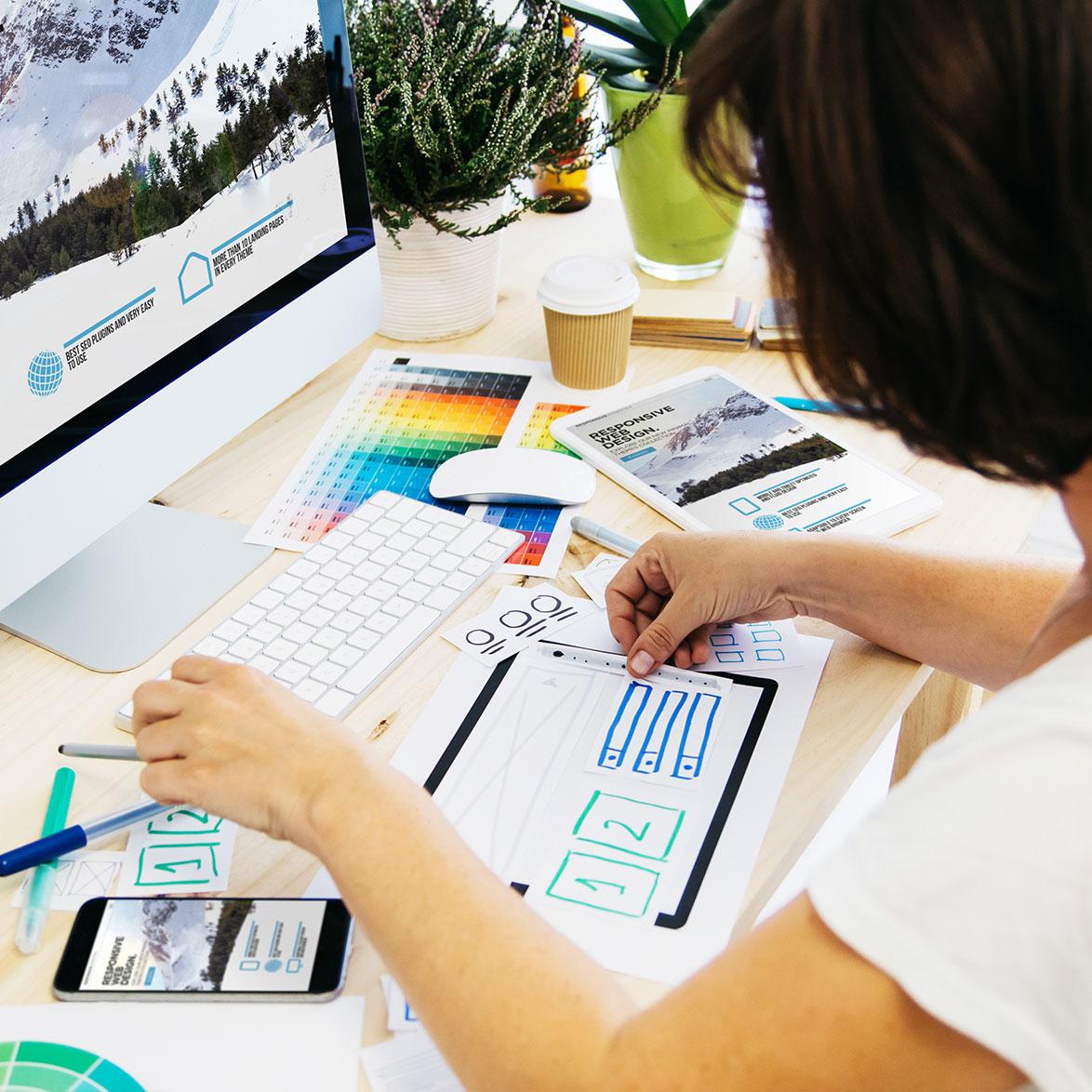 Content & Sitewide Design